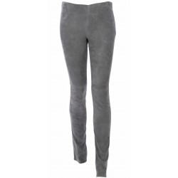 LEGGING ASTEROID SUEDE STRETCH GRIS FONCE