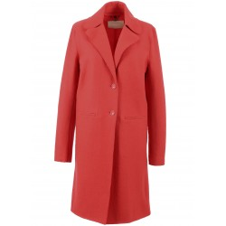 62312 - MANTEAU LAINAGE ROUGE