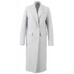 62314 - MANTEAU LONG GRIS