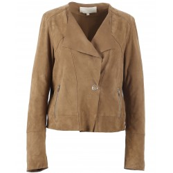 62336 - TAN SUEDE JACKET