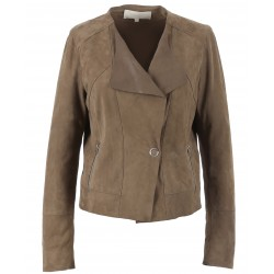 62336 - CONCRETE SUEDE JACKET