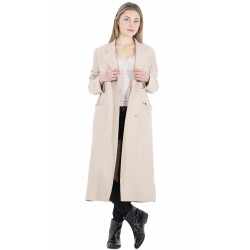 62314 - MANTEAU LONG BEIGE