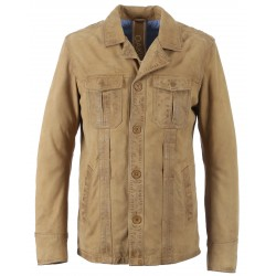 62304 - NUTS NUBUCK LEATHER JACKET