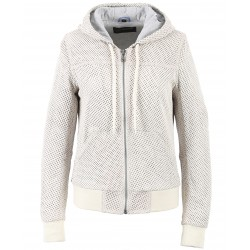 62322 - WHITE PERFORATED JACKET
