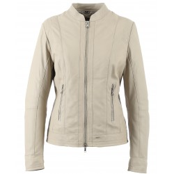 61402 - BEIGE FITTED JACKET