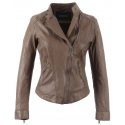 61511 - TAUPE FITTED JACKET