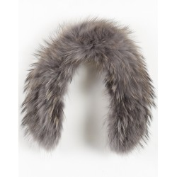 61595 - GREY FUR COLLAR TOY