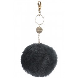 62240 - GREEN FUR KEYRING