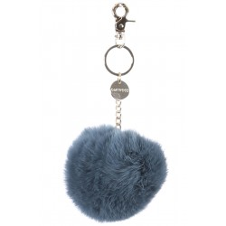 62240 - ICE BLUE FUR KEYRING