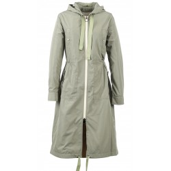 62784 - LIGHT KHAKI HOPPER COAT