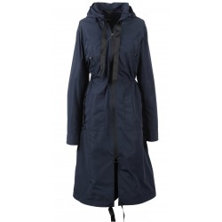 62784 - NAVY BLUE HOPPER COAT