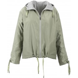 62780 - LIGHT KHAKI REVERSIBLE JACKET SUNRISE
