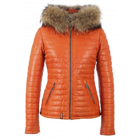 62849 - BLOUSON FANNY ORANGE