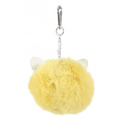 62802- PORTE CLEFS CATSY GOLD
