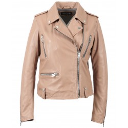 63134 - OLD PINK LEATHER JACKET NIGHT