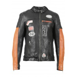 63174 - BLACK LEATHER JACKET INDIE