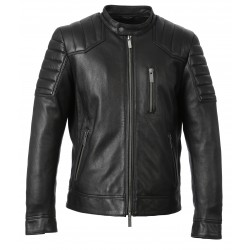 63156 - BLACK LEATHER JACKET DIRECT