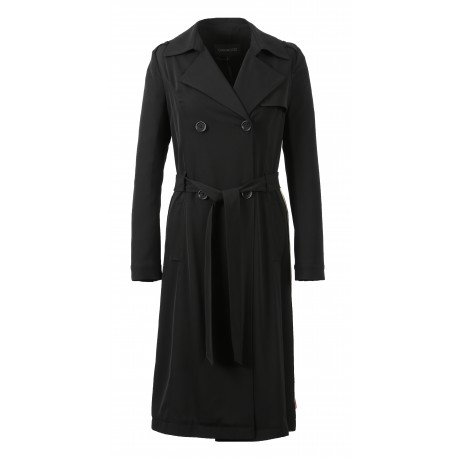 63251 - BLACK TRENCH ELEGANT