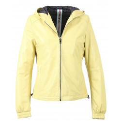 63244 - YELLOW LEATHER JACKET CHILL