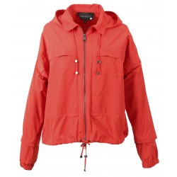 63219 - VESTE GRAPHIC ROUGE