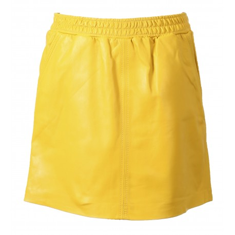 63144 - YELLOW LEATHER SKIRT ROAD