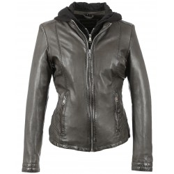 OTHER (REF. 63392) ANTHRACITE - GENUINE LEATHER JACKET