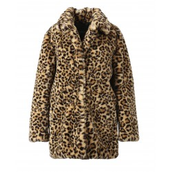 USER (REF. 63441) LEOPARD - FAKE FUR COAT