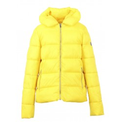 PUMP (REF. 63494) YELLOW - NYLON SHORT DOWN JACKET