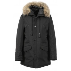 MISSING (REF. 63314) BLACK - NYLON PARKA