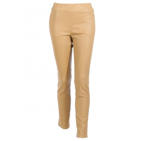 BOXING ( REF.63410) NUTS - STRETCH LEATHER SKINNY PANTS