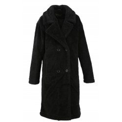 AMAZING (REF.63456 ) BLACK - WOOL COAT