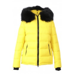 UNIVERSAL (REF. 63332) YELLOW - NYLON SHORT LENGHT DOWN JACKET
