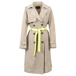 CORPORATION (REF. 63546) MASTIC - TRENCH COAT WITH NEON YELLOW ACCESSORY
