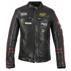 HAMILTON (REF.63602) BLACK - GENUINE LEATHER JACKET