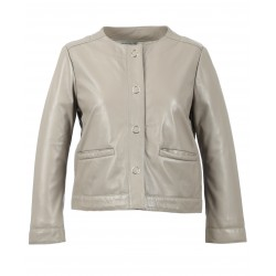 ORCHESTRA ( REF.63559) MASTIC - JACKET IN GENUINE LEATHER
