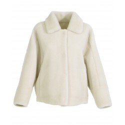 HELEN (REF. 63748) LIGHT BEIGE - REVERSIBLE JACKET IN WOOL AND SYNTHETIC