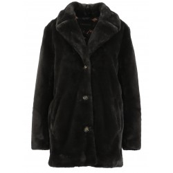USER (REF. 63441) DARK GREY - FAKE FUR COAT