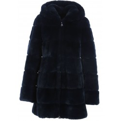 62196 - BLUE FUR JACKET LOLITA