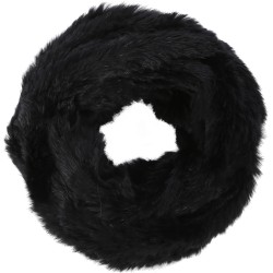 62190 - BLACK FUR SNOOD