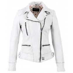 BLOUSON VIDEO BLANC