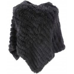 56034 - ANTHRACITE FUR PONCHO DAVOS