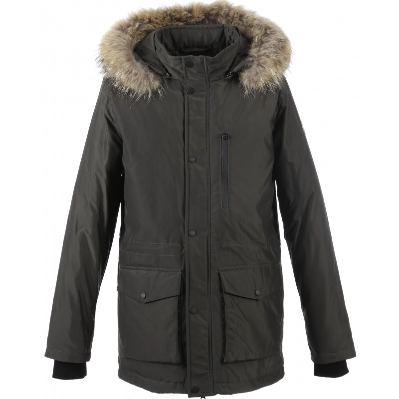 Nylon Fonce Parka 62426 Oakwood Brand The Kaki Leather BqR81Zwx