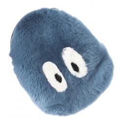 POCKET (REF. 62445) ICE BLUE - REAL FUR CLUTCH BAG