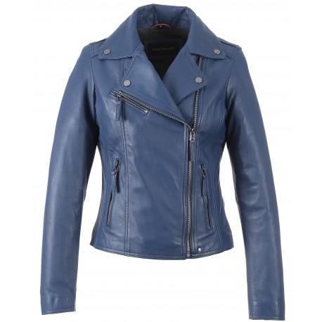 The Cobalt 62086 Brand Oakwood Jacket Leather Asymetric A0wz6