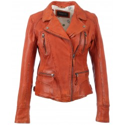 60861 - BLOUSON CAMERA ORANGE