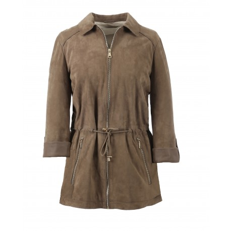 62720 - VESTE PAMPA TAUPE