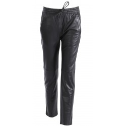62772 - LEATHER BLACK TROUSERS GIFT