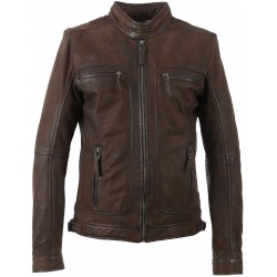 62983 - LIGHT BROWN JACKET CASTEL