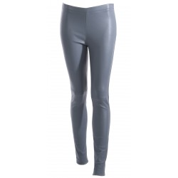 63018 - BLUE LEATHER TROUSERS ANTARES