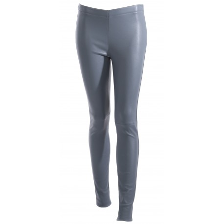 ANTARES (REF. 63018) BLUE - GENUINE LEATHER TROUSERS